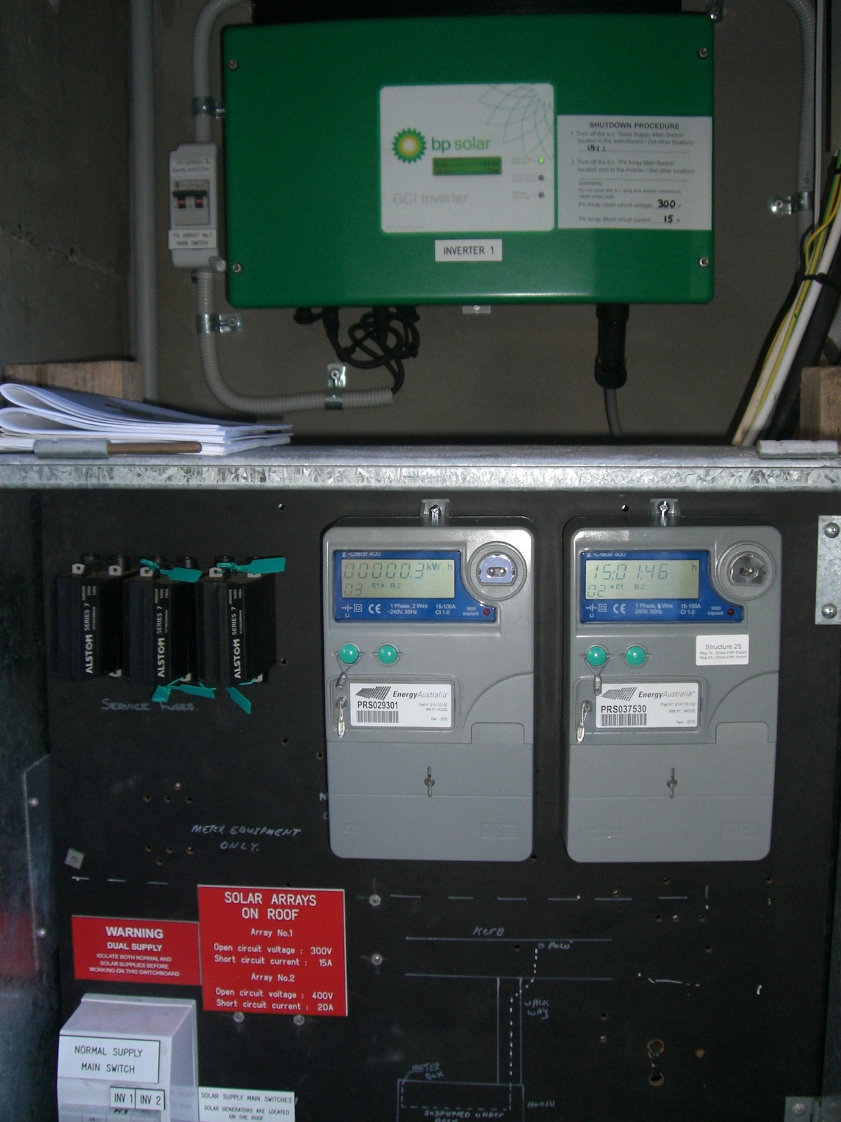 Gross Feed-In-Tariff Electricity Meters