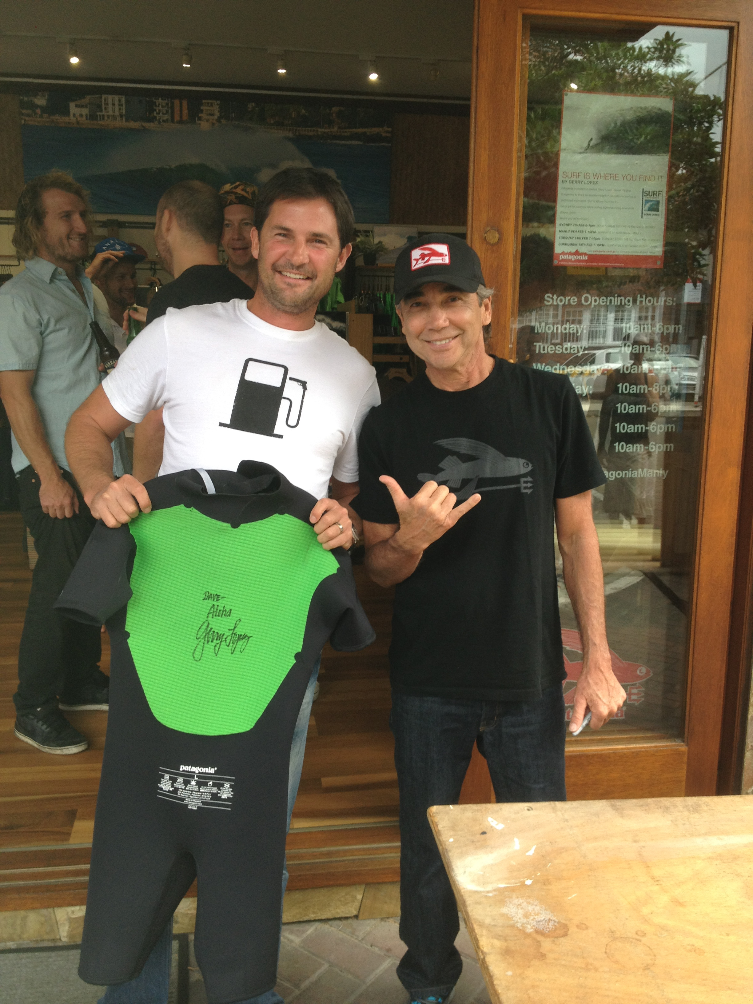Patagonia &  Jerry Lopez in Manly